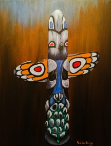 Father's Totem, Pauline Young