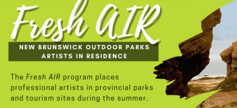 Fresh Air: NB Outdoor Parks Artists in Residence